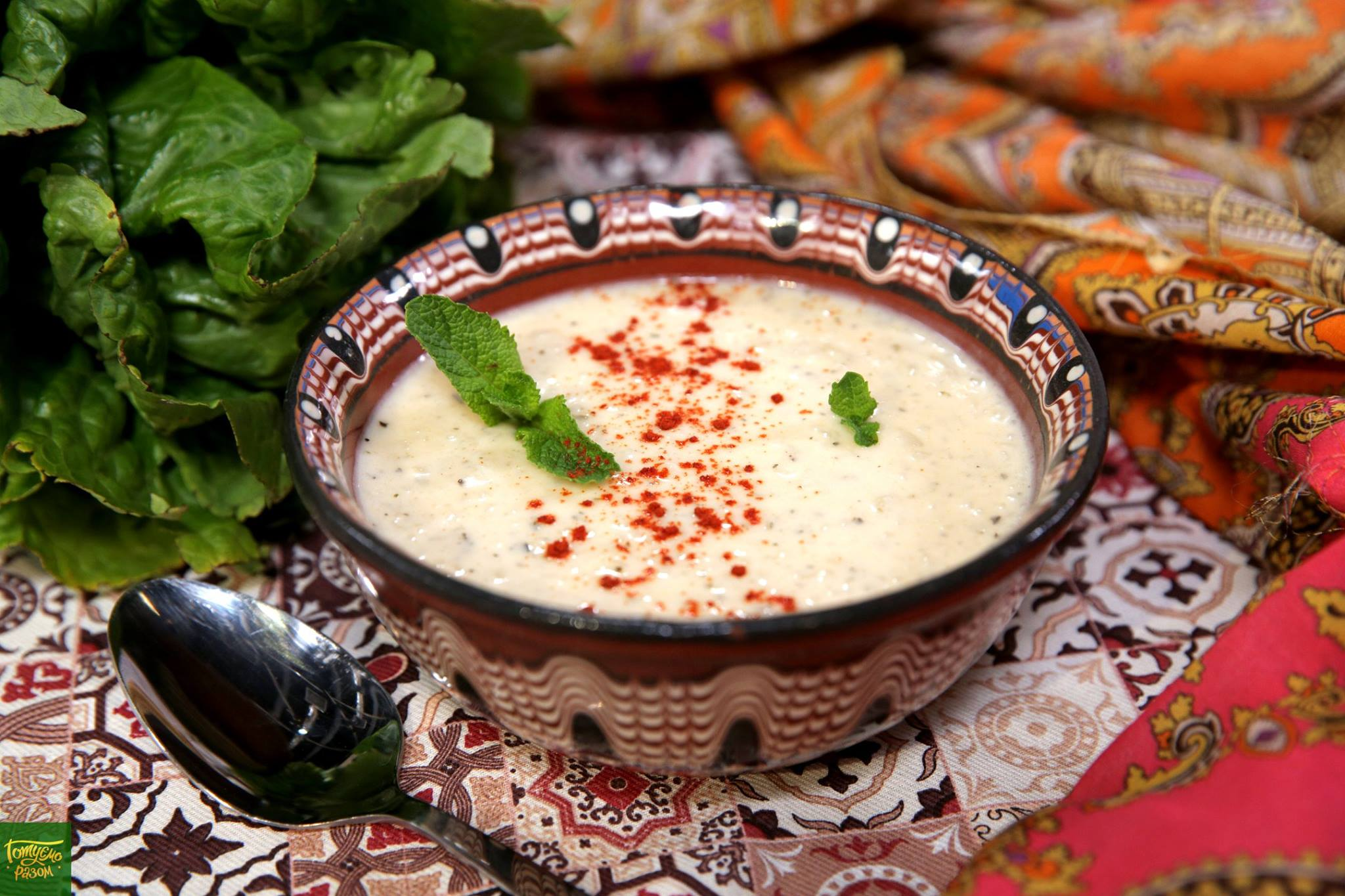 Турецкий йогуртовый суп Яйла Чорбасы