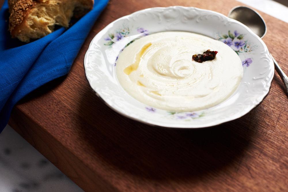 Йеменский йогуртовый суп на завтрак