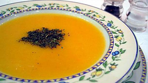 Турецкий морковный суп