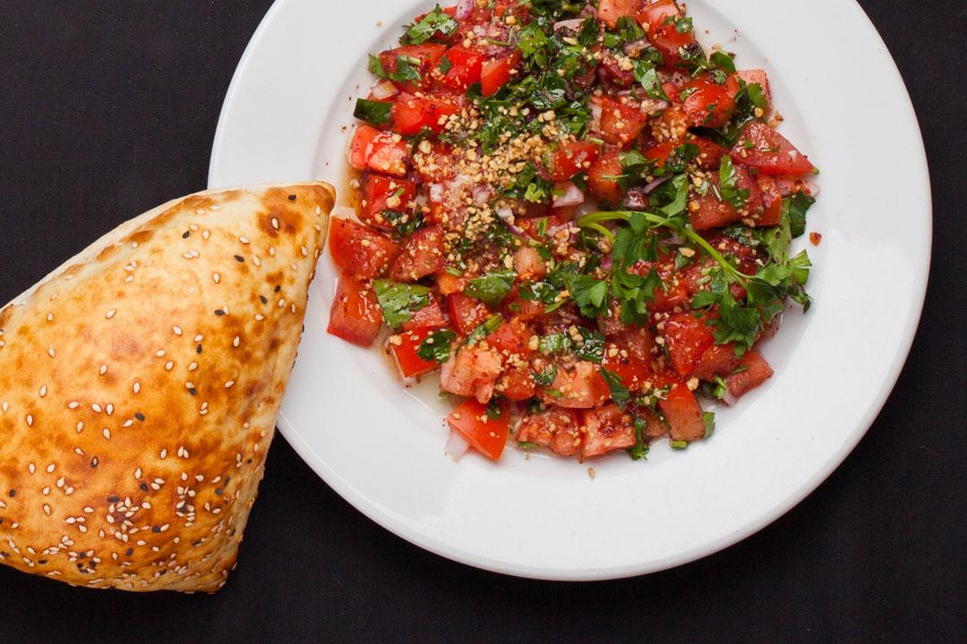 Турецкий салат Гявурдагы