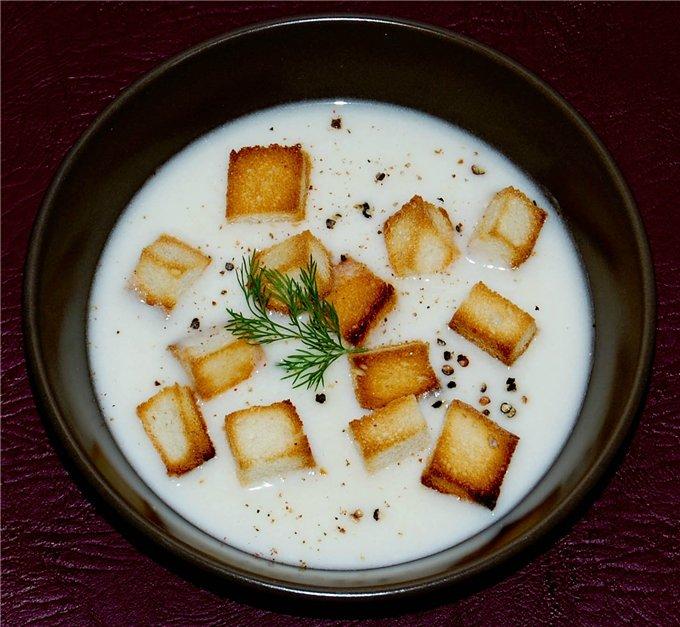 Карпатский суп с тмином и сметаной