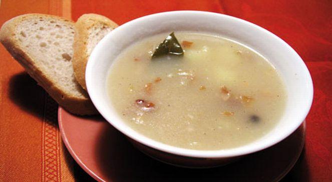 Лемковский молочный суп с морковью