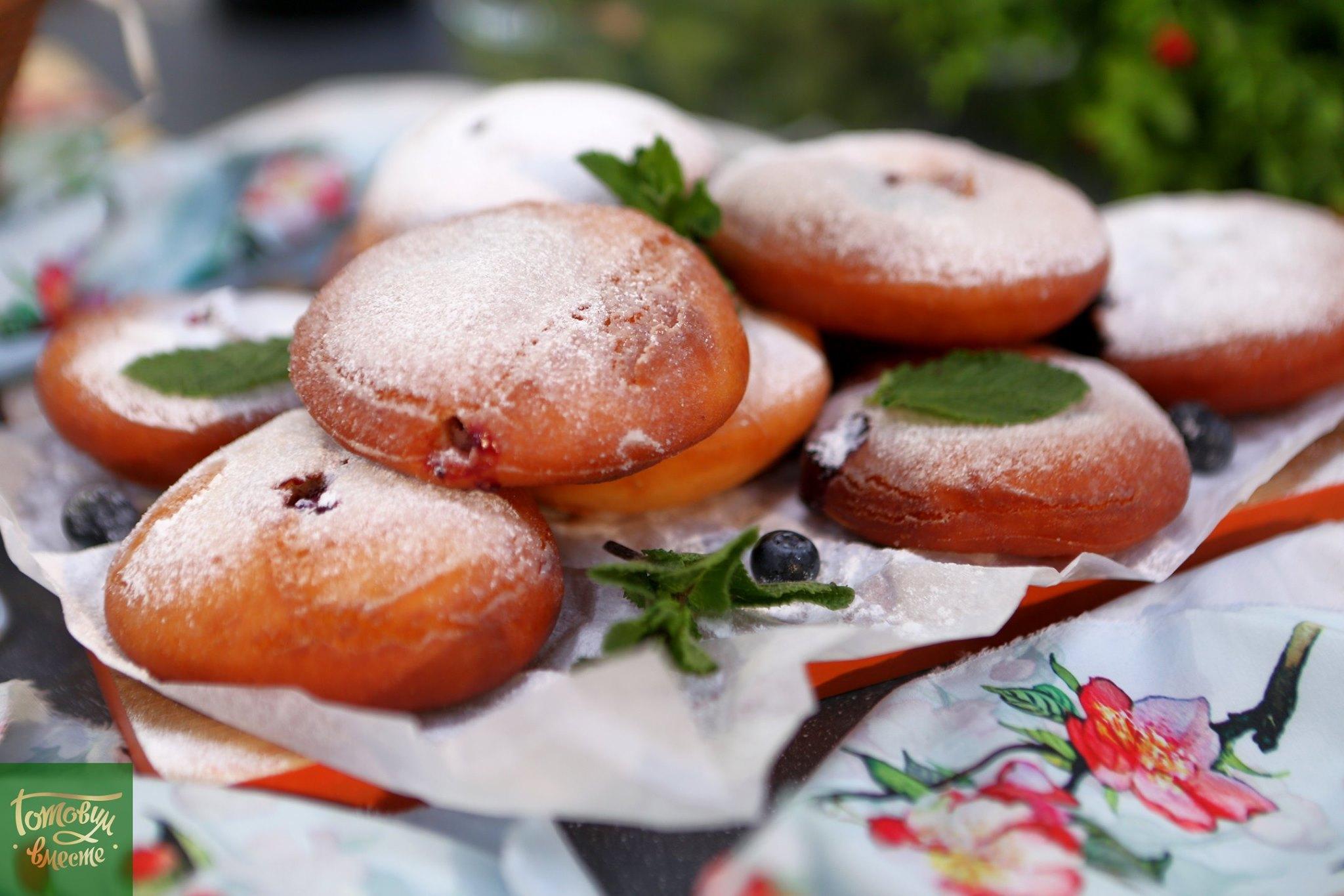 Израильские пончики Суфганиёт