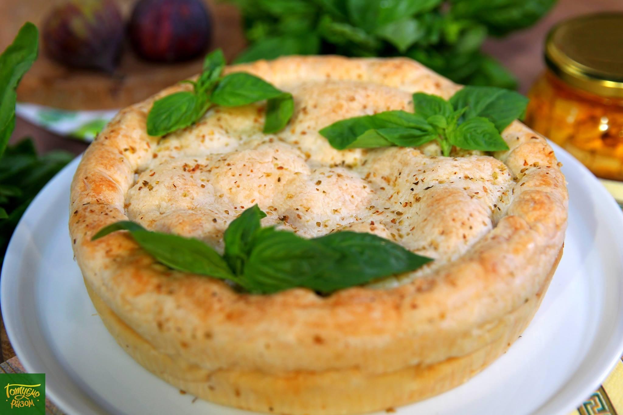 Котопита - греческий пирог с курицей и сыром