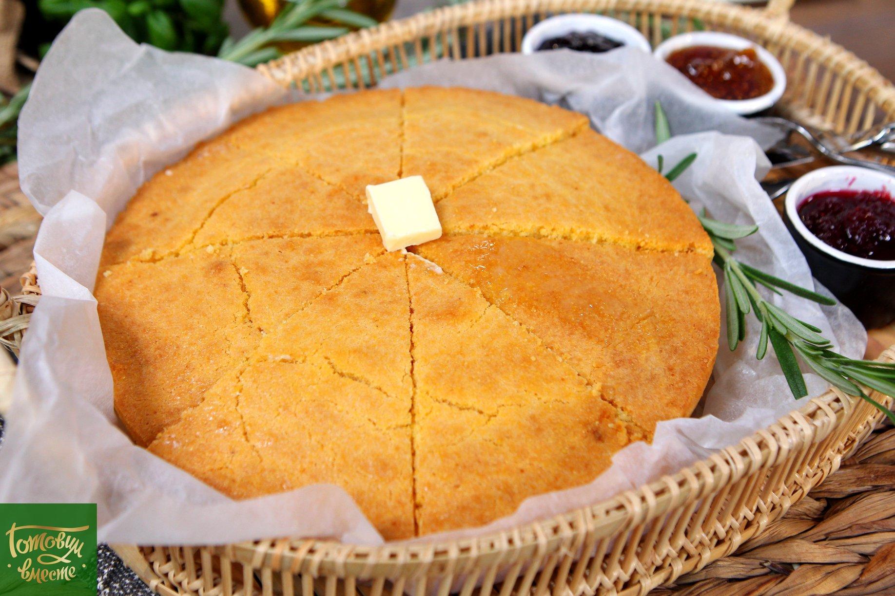 Кукурузный хлеб - Cornbread