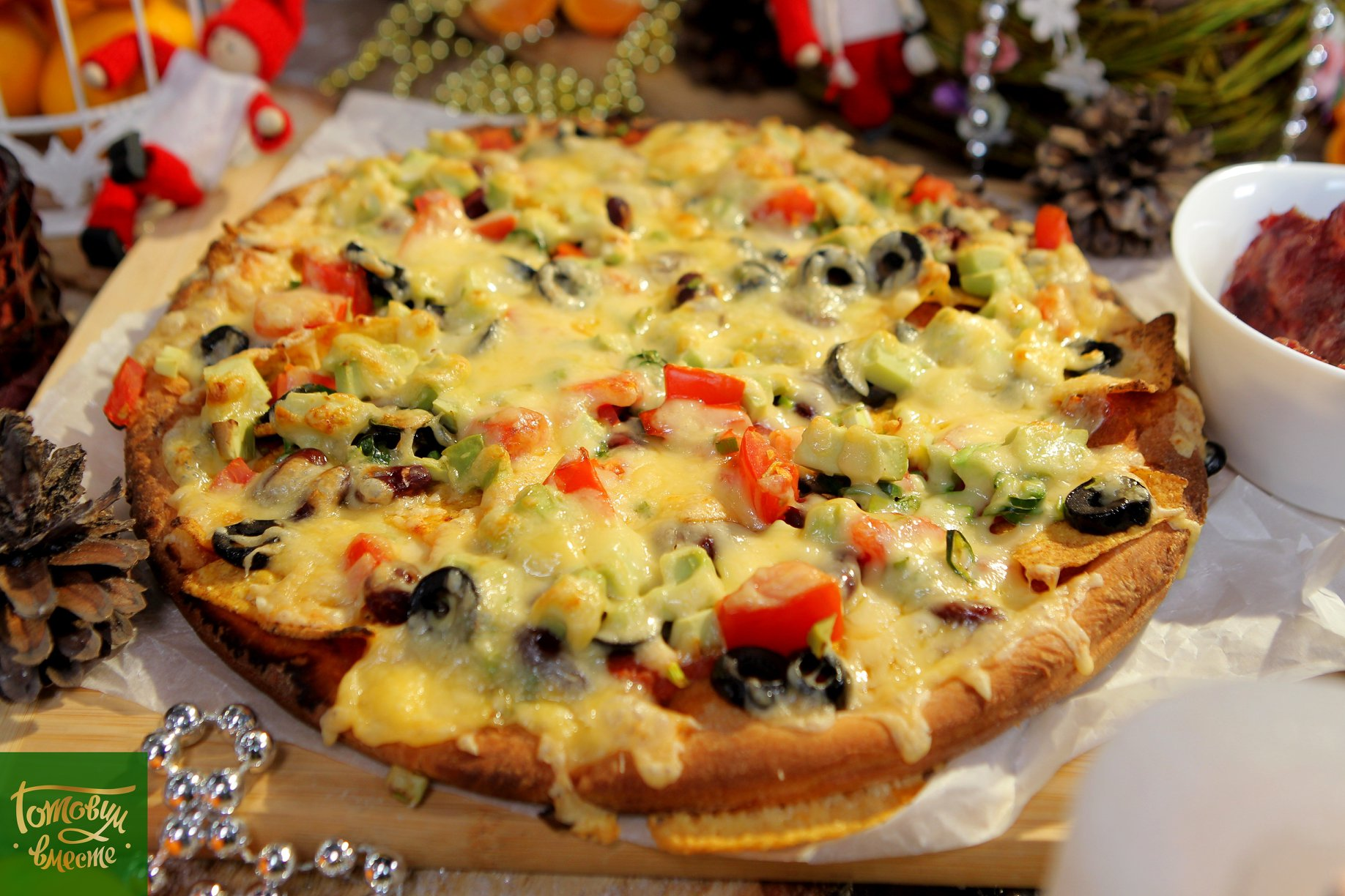 Пицца-начос