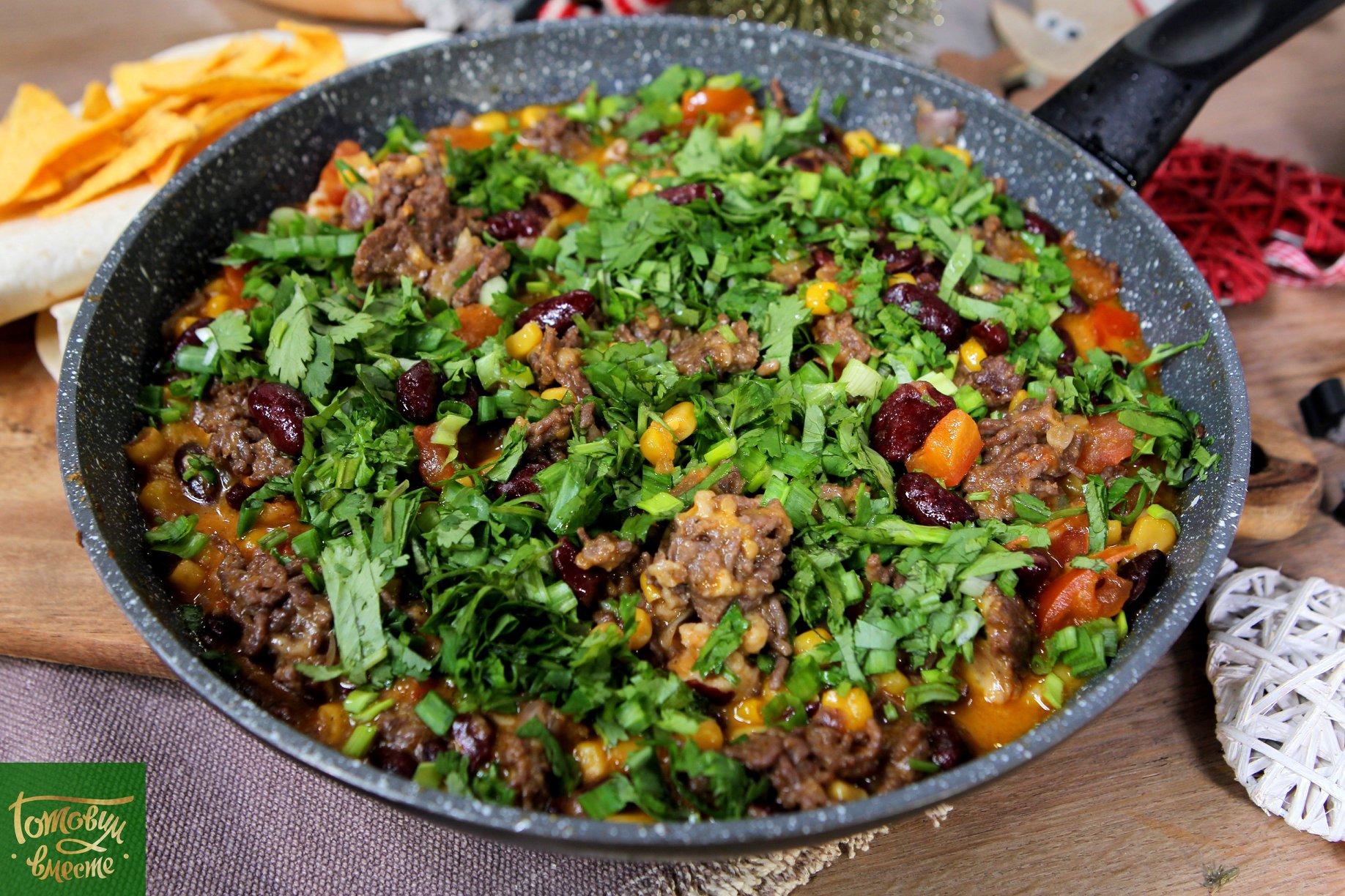 Сковородка буррито