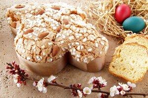 Итальянский пасхальний кекс – коломба