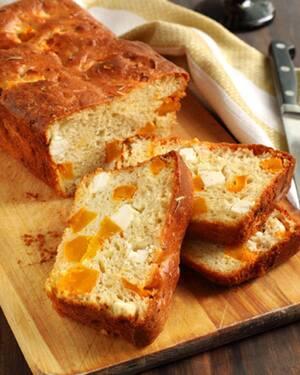 Хлеб с тыквой и фетой