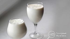 Молочный десерт «Снежок»