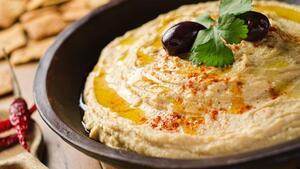 Хумус, закуска из нутового пюре