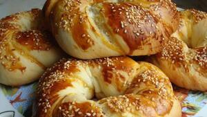 Турецкие булочки Ачма