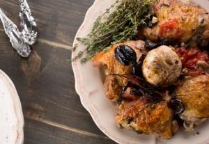 Куриные бедрышки по-итальянски