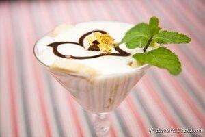 Десерт с йогуртом