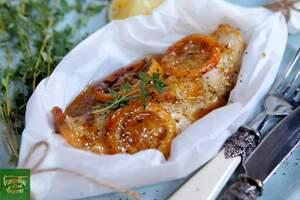 Филе рыбы в медово-апельсиновом соусе