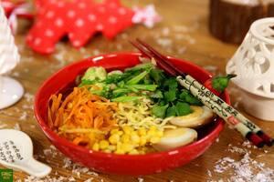 Японский суп Тори Рамен с курицей