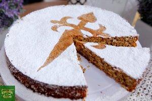 Миндальный пирог Сантьяго