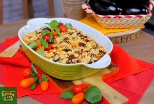 Баклажаны запеченные в томатном соусе
