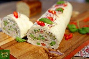 Сэндвич-ролл из хлеба