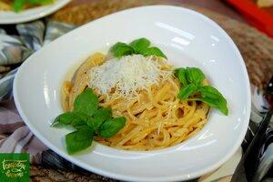 Паста с сыром и перцем - Качо э пепе (Cacio e pepe)