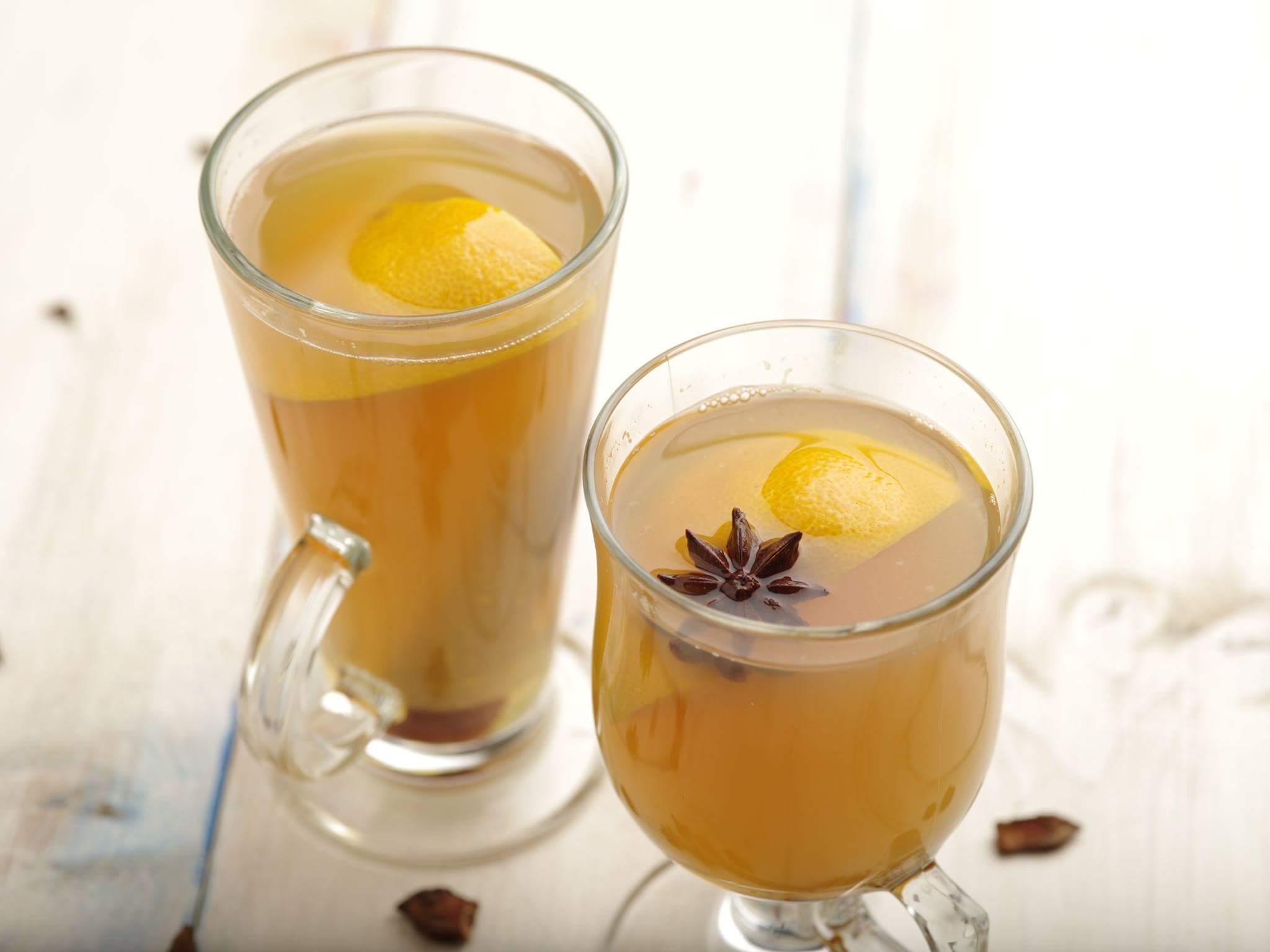 Пряный мандариновый чай