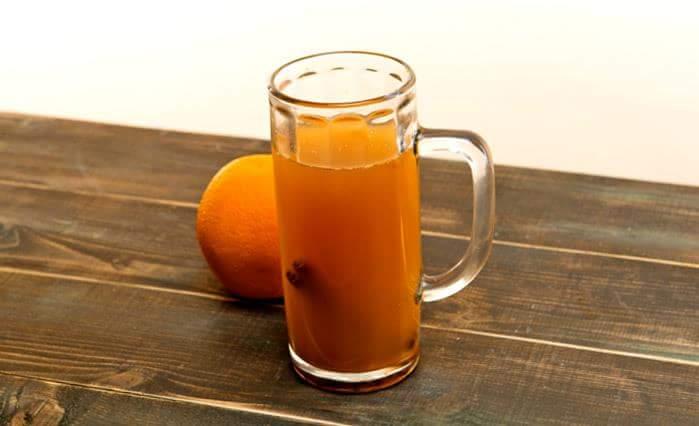 Горячее апельсиновое пиво