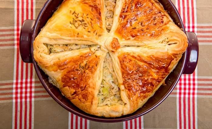 Неделя Октоберфеста: Пирог с квашеной капустой