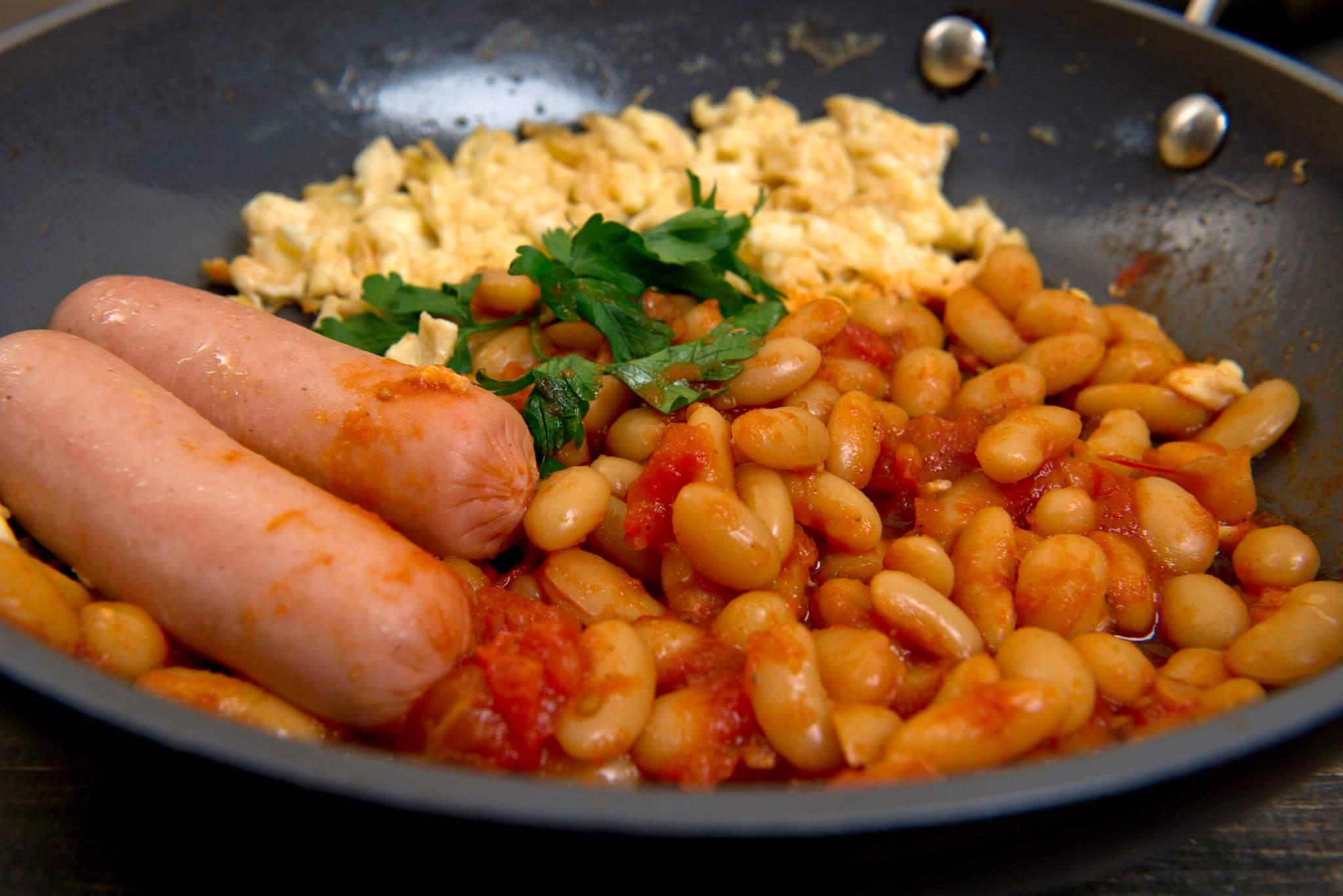Омлет по-английски или scrambled eggs
