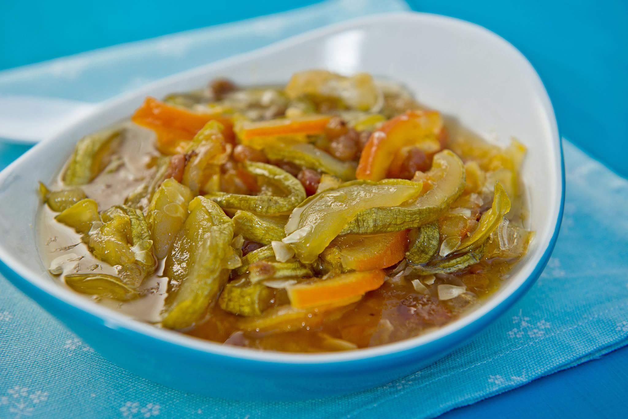 Варенье из цитрусовых и кабачка