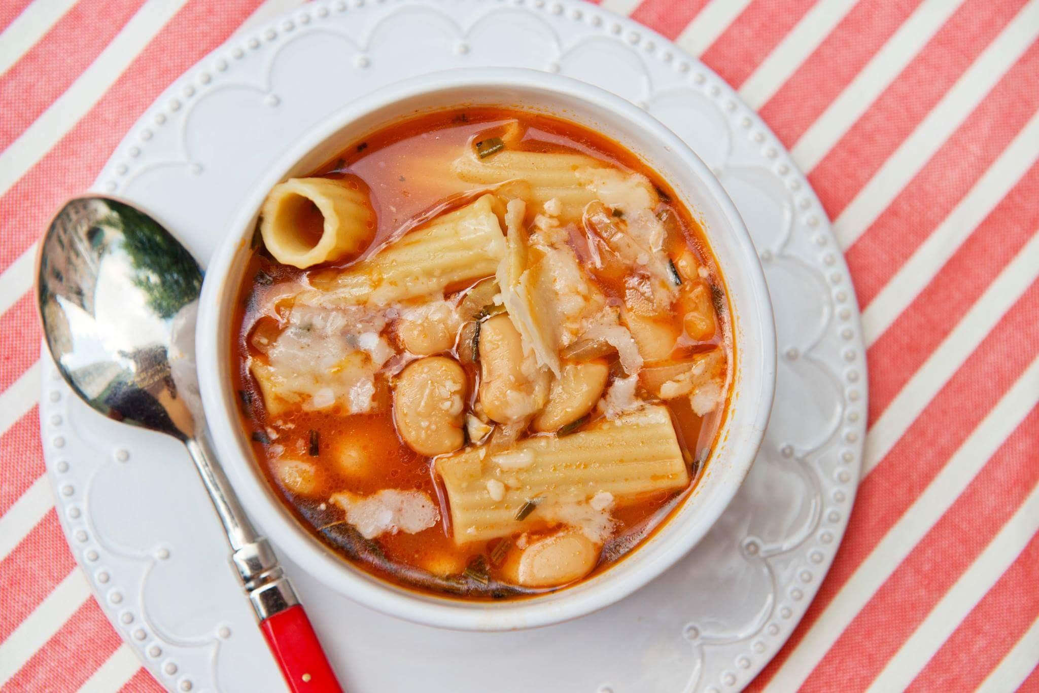 Тосканский суп по рецепту Делии Смит