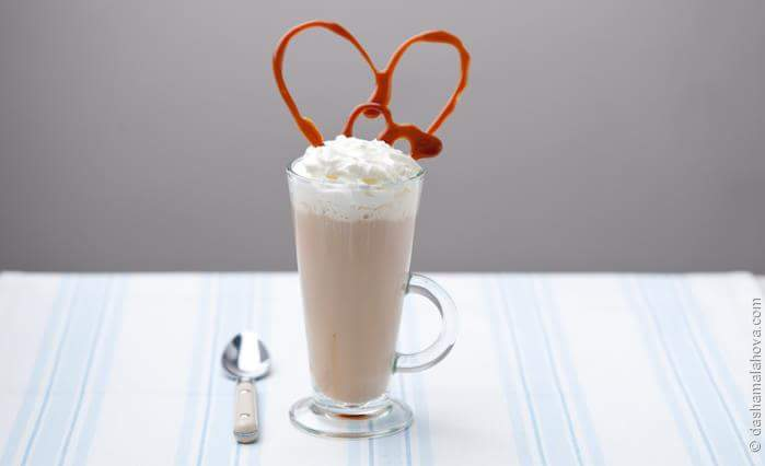 Рецепт Карамельный кофе