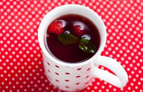 Рецепт Малиновый чай