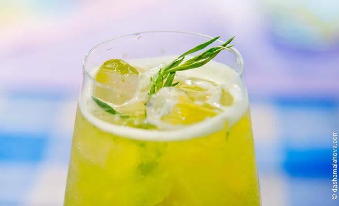 Лимонад из тархуна