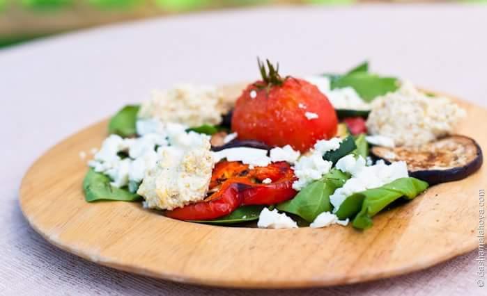 Овощной гриль-салат