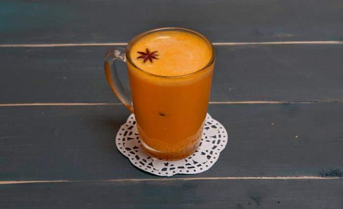 Неделя тыквы: Тыквенное пряное молоко