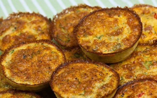 Рецепт Мини-омлеты с овощами