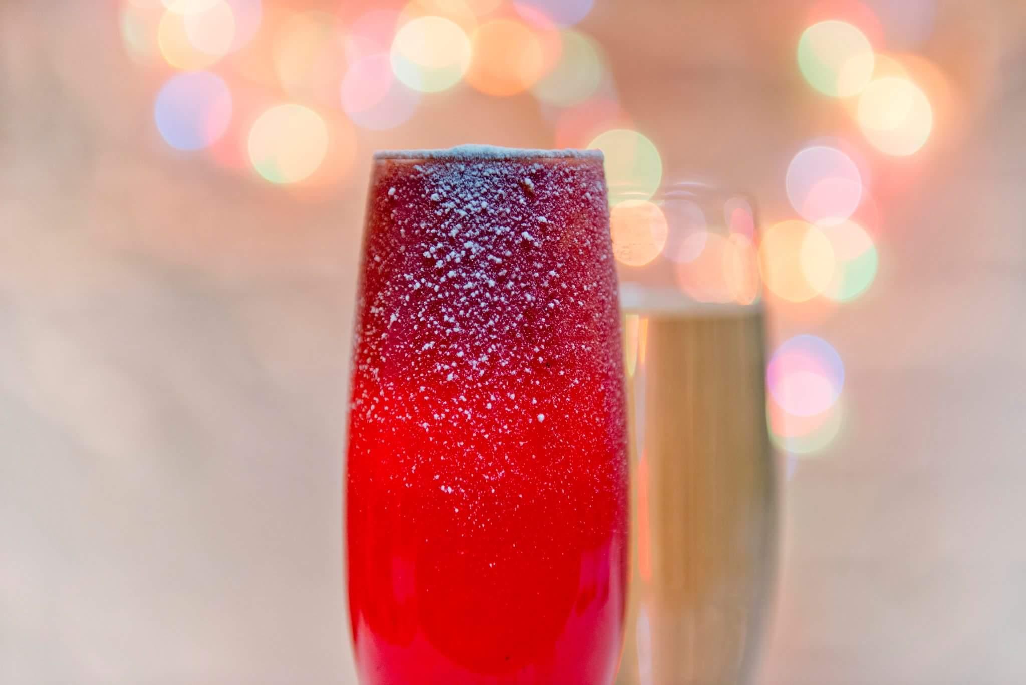Рецепт «Зимний» коктейль
