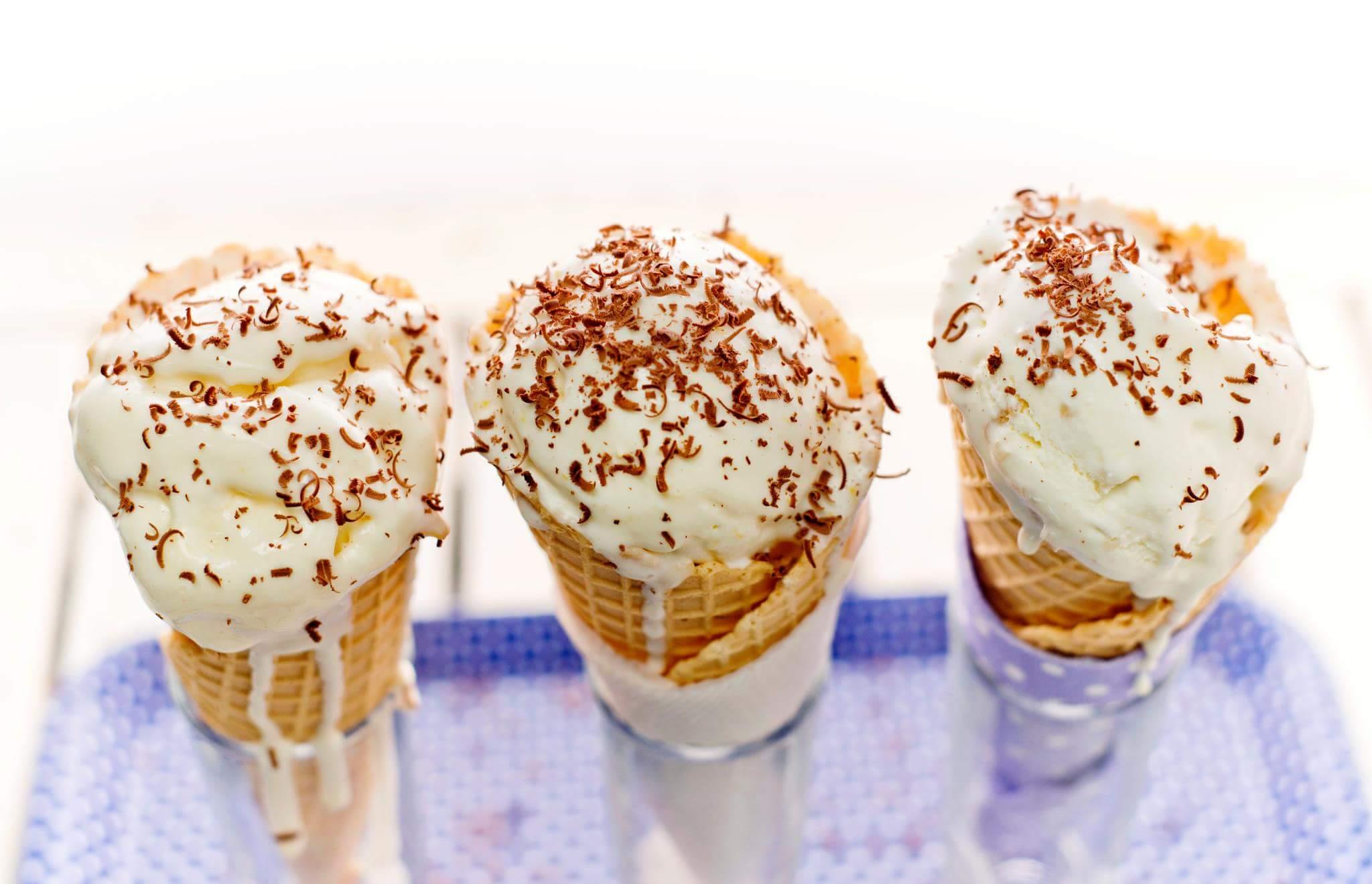 Мороженое из сметаны