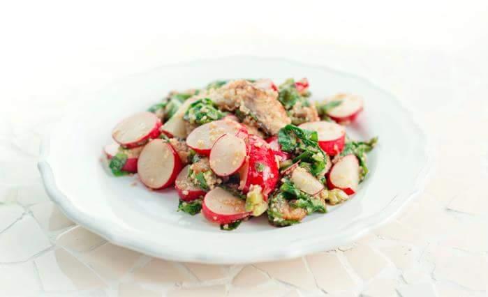 Рецепт Салат с угрем
