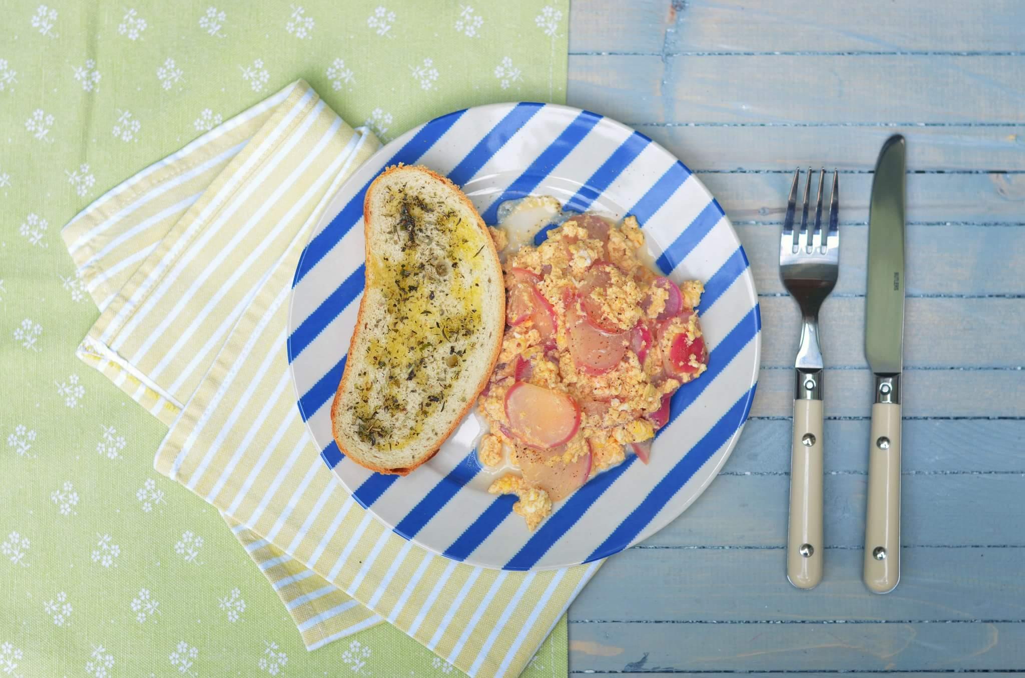 Рецепт Жаренный редис с паприкой