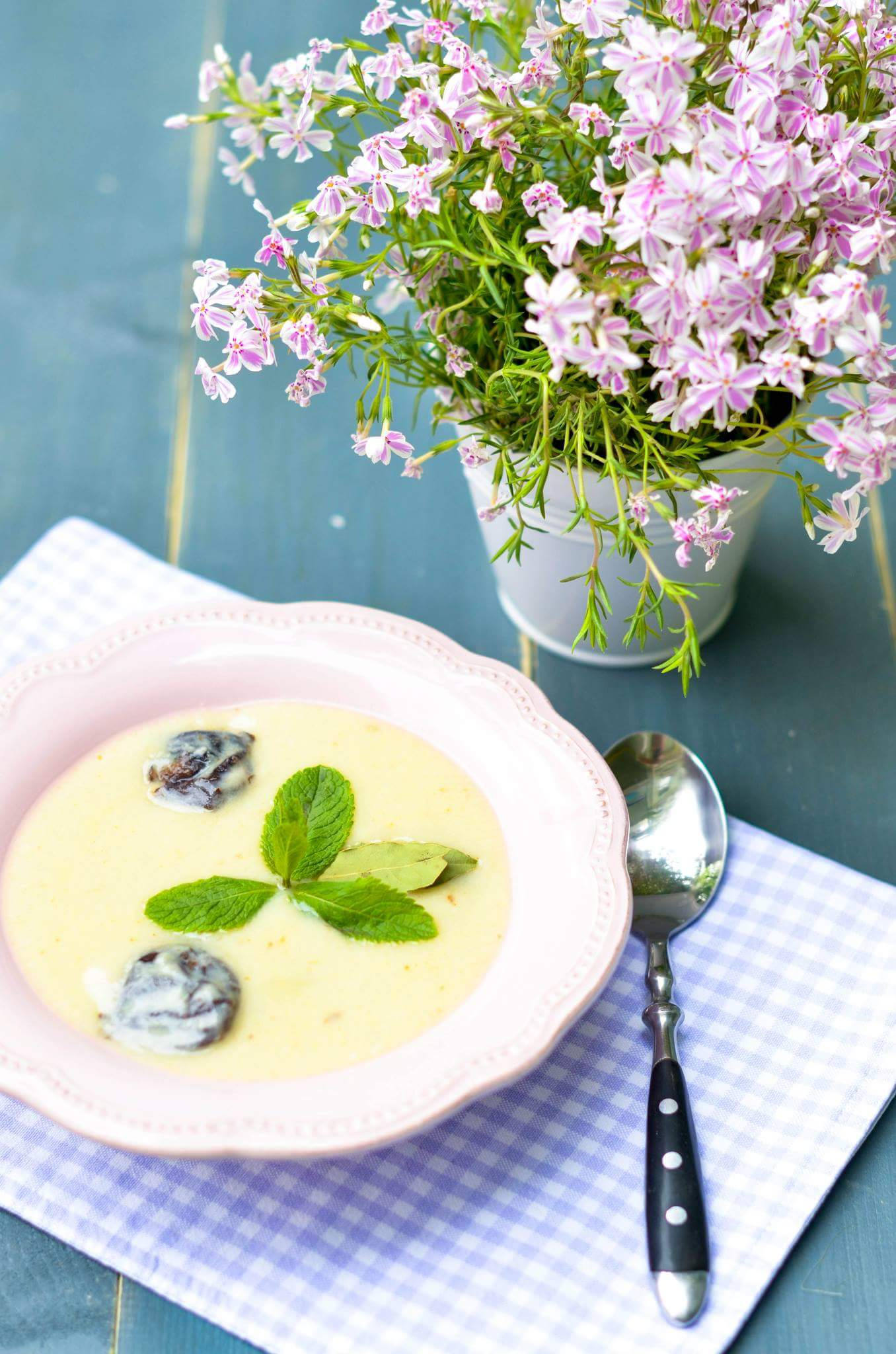 Суп с черносливом