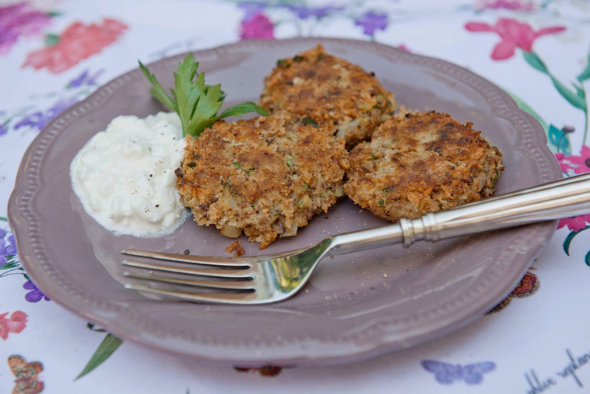 Рецепт Картофляники с белыми грибами