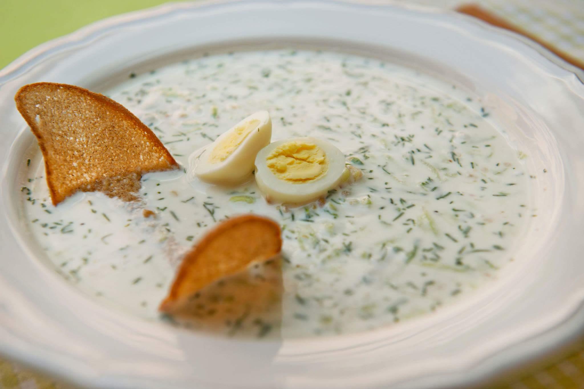 Рецепт суп болгарский с яйцом