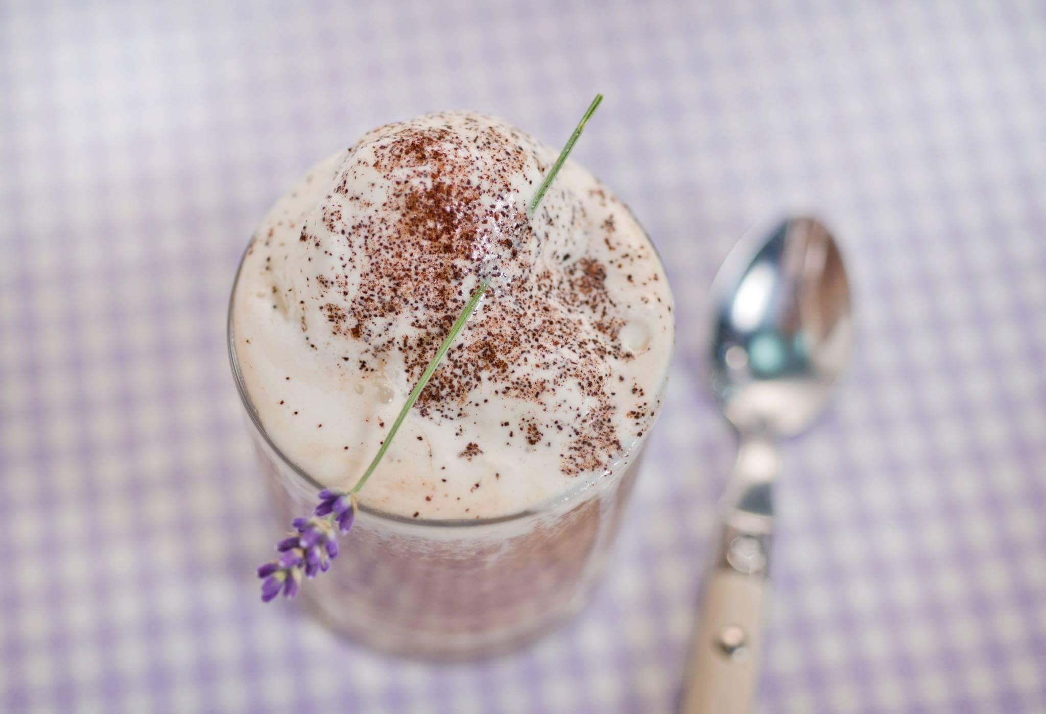 Рецепт Аффогато с кофейным бисквитом