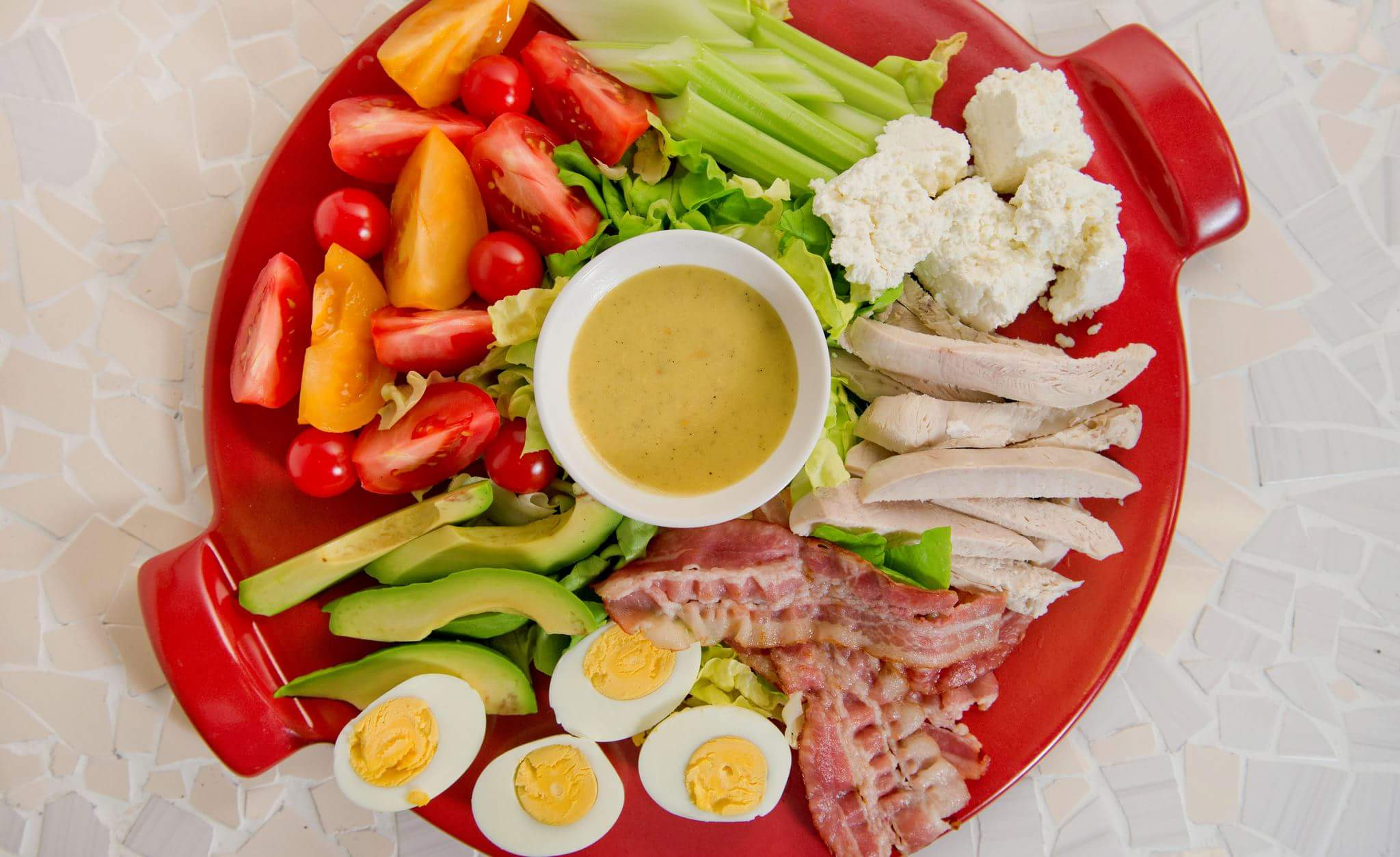 Рецепт Кобб салат