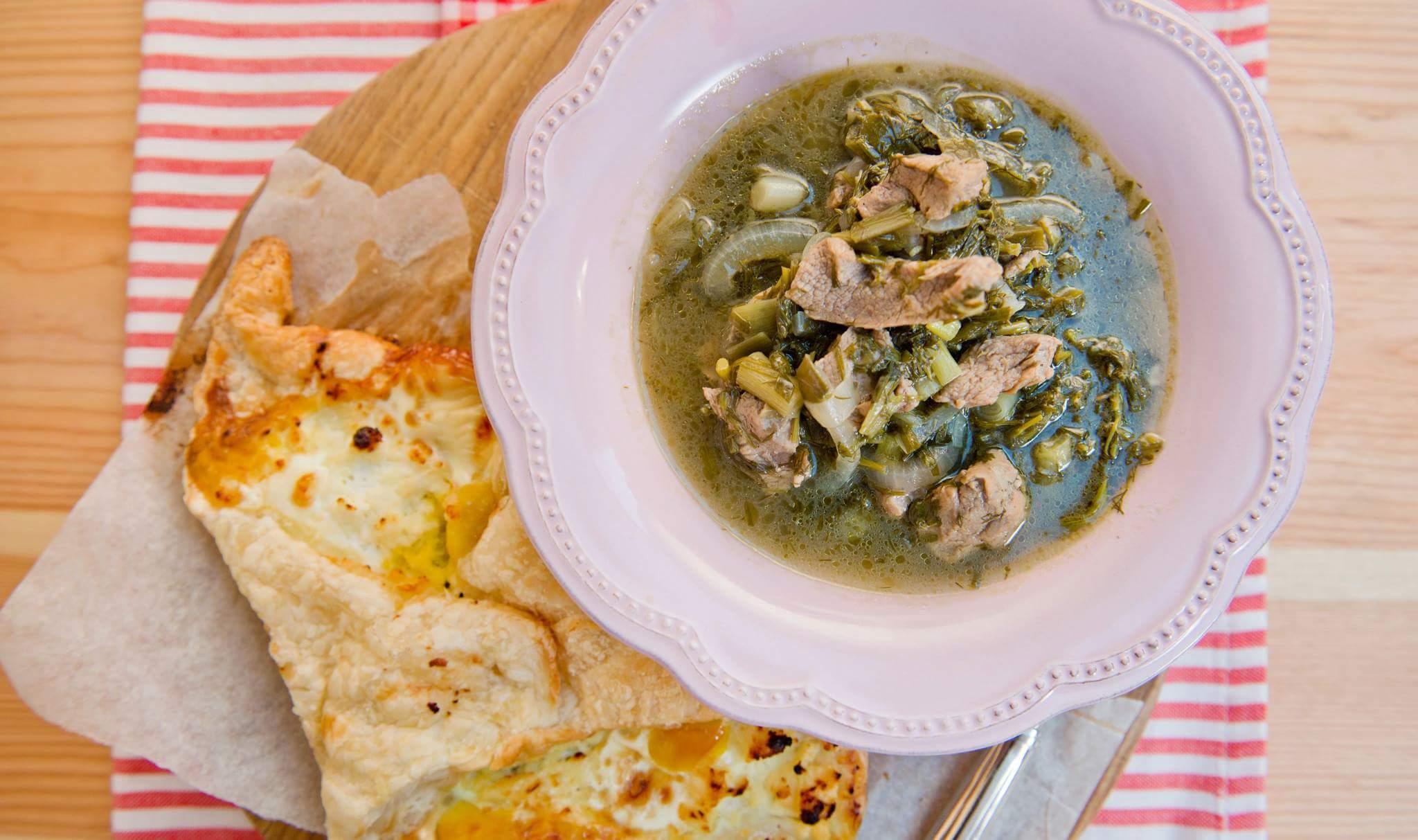 Рецепт Чакапули и хачапури
