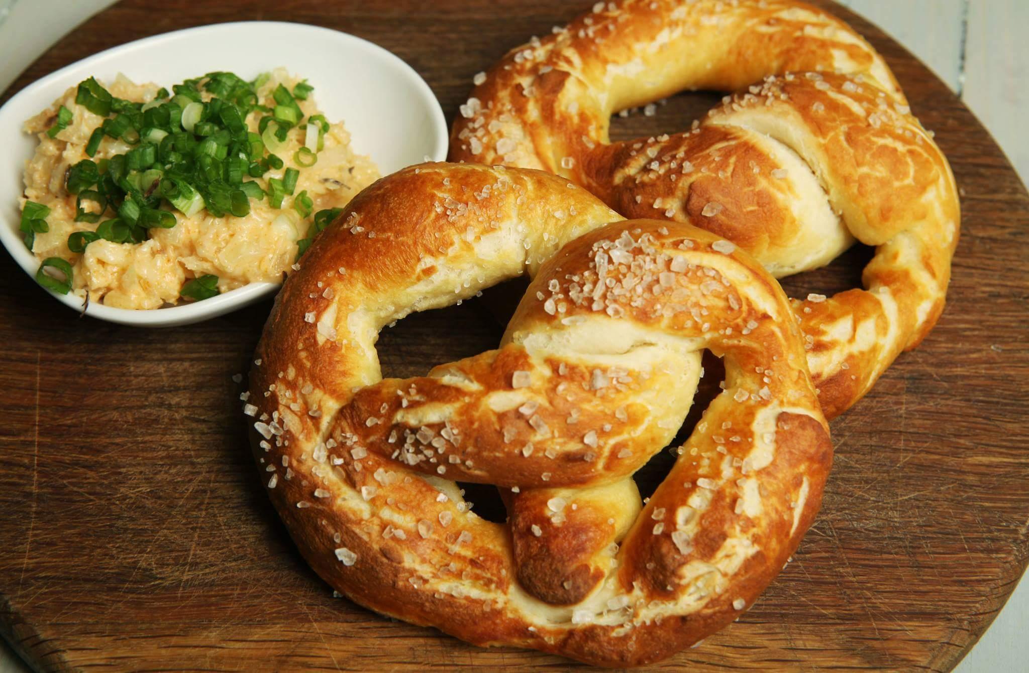 Рецепт Баварский брецель и обацда