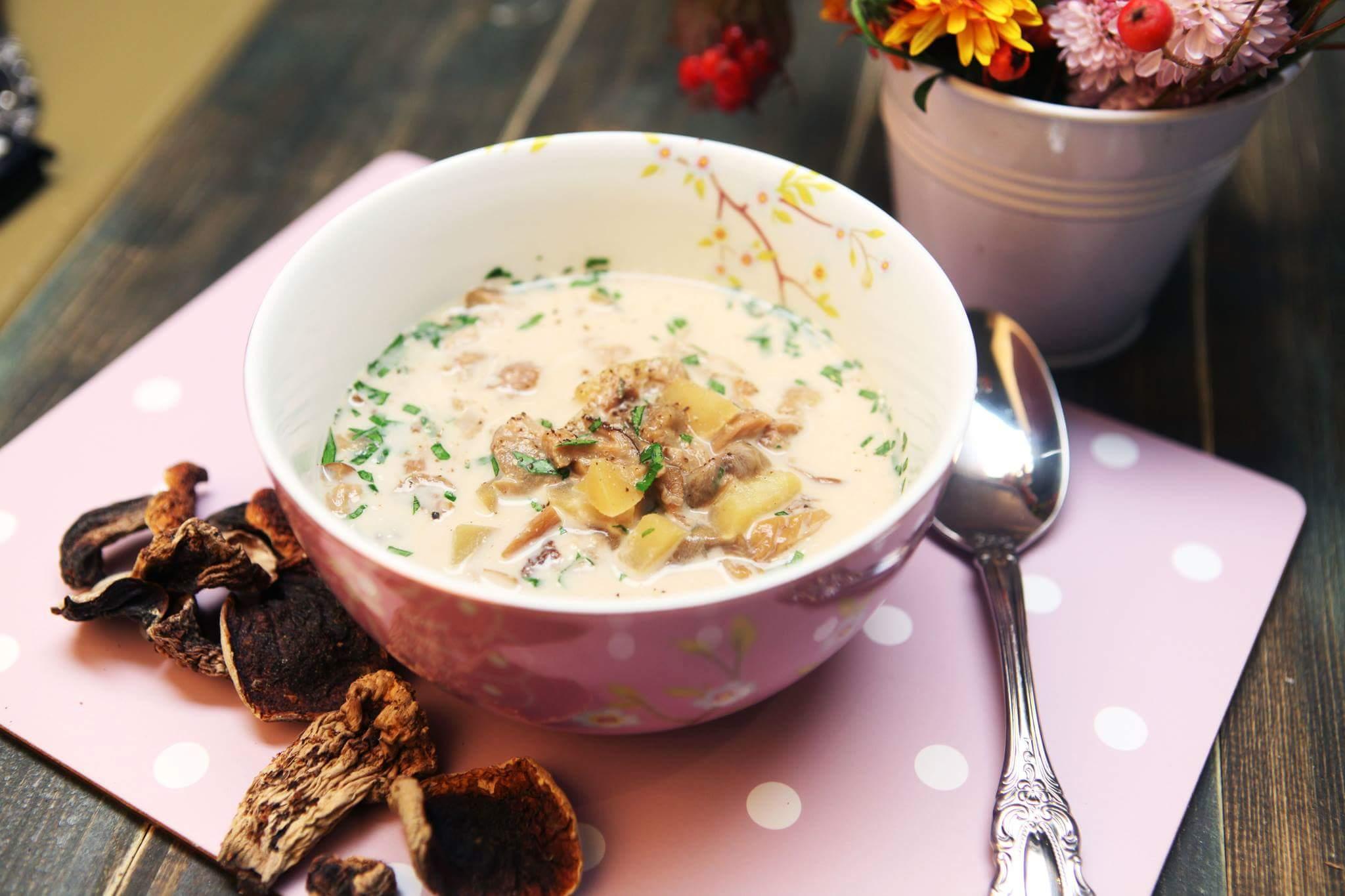 Картофельно-грибной суп