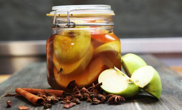 Рецепт Маринованные яблоки