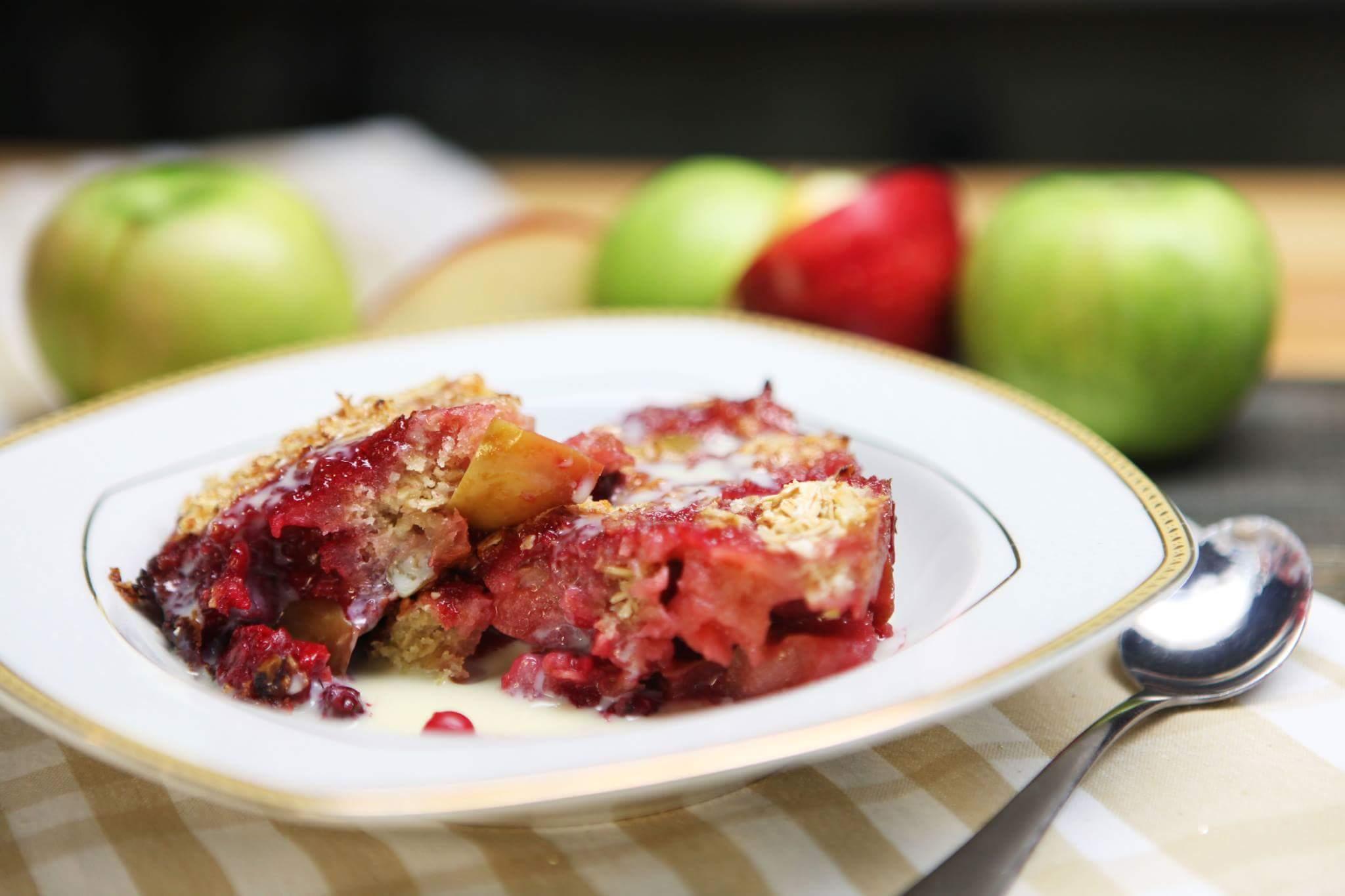 Рецепт Яблочный крамбл
